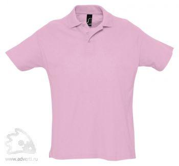 Рубашка поло «Summer 170», мужская, розовая