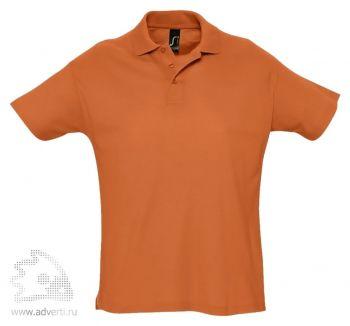 Рубашка поло «Summer 170», мужская, оранжевая