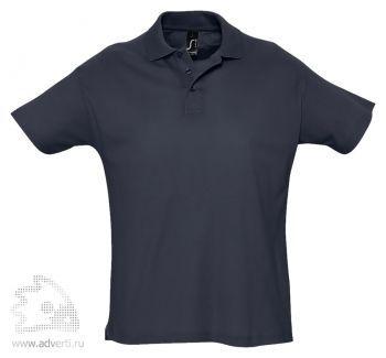 Рубашка поло «Summer 170», мужская, темно-синяя