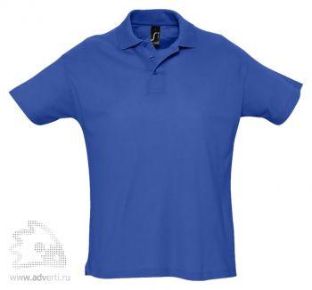 Рубашка поло «Summer 170», мужская, синяя