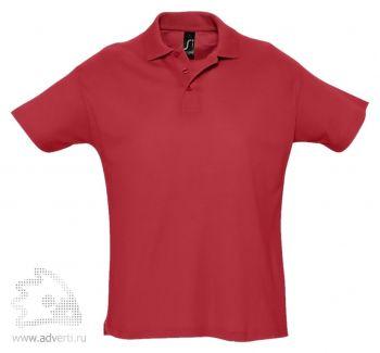 Рубашка поло «Summer 170», мужская, красная