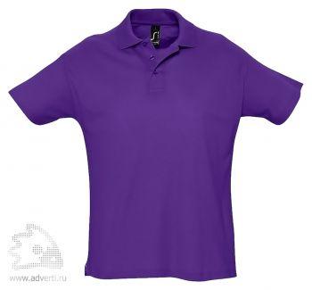 Рубашка поло «Summer 170», мужская, темно-фиолетовая
