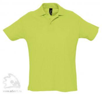 Рубашка поло «Summer 170», мужская, светло-зеленая