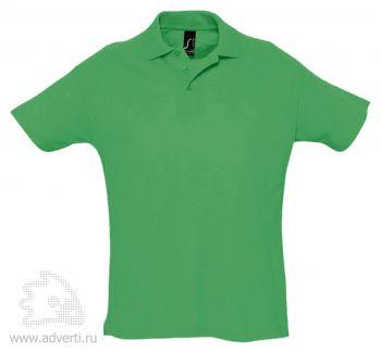 Рубашка поло «Summer 170», мужская, зеленая