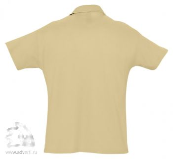 Рубашка поло «Summer 170», мужская, бежевая оборот