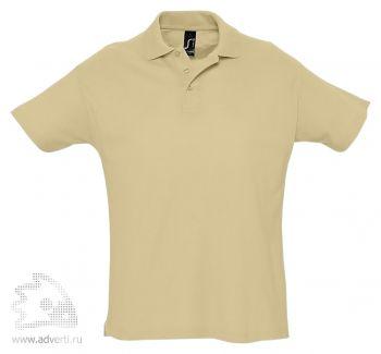 Рубашка поло «Summer 170», мужская, бежевая