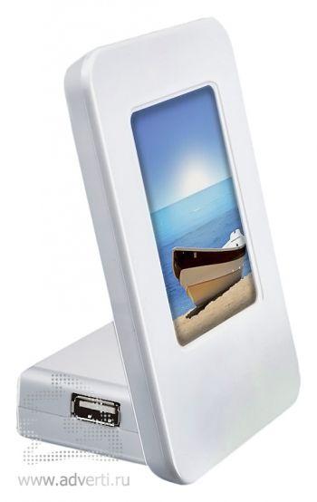 USB Hub с фоторамкой, подсветкой, usb-разветвителем