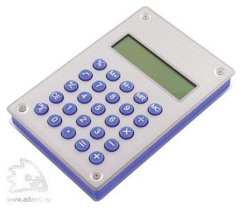 Калькулятор Aqua на энергии воды серибристый