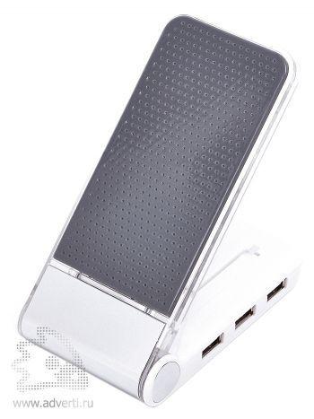 Картридер c Usb-разветвителем и зарядным устройством для мобильного телефона