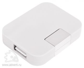 Мини USB-разветвитель на 4 порта, оборотная сторона