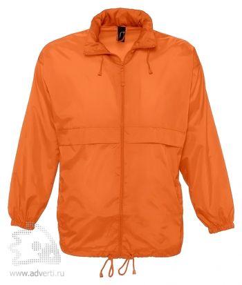 Ветровка «Surf 210», унисекс, оранжевая