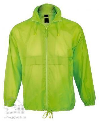 Ветровка «Surf 210», унисекс, светло-зеленая