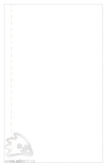 Бизнес-блокнот «Urban», внутренний блок - лист для заметок