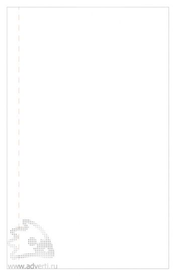 Блокнот «Funky», внутренний блок - лист для заметок