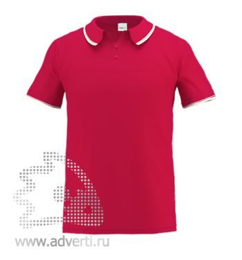 Рубашка поло «Stan Trophy», мужская, красная