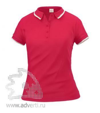Рубашка поло «Stan Trophy W», женская, красная