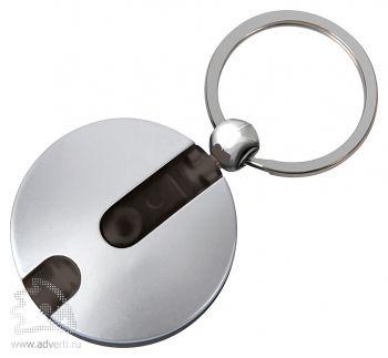 Брелок-фонарик «Круг», чёрный