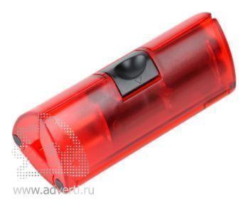 Набор отверток в треугольном футляре, красный