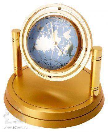 Часы «Карта мира»