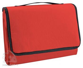 Коврик пляжный с надувной подушкой «Beach», красный