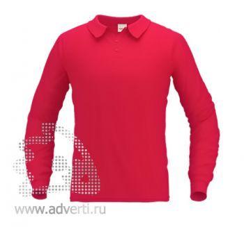 Рубашка поло «Stan Polo», мужская, красная