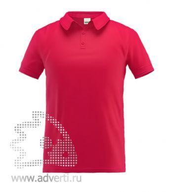 Рубашка поло «Stan Premium», мужская, красная