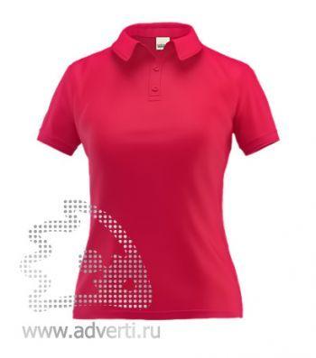 Рубашка поло «Stan Premium W», женская, красная