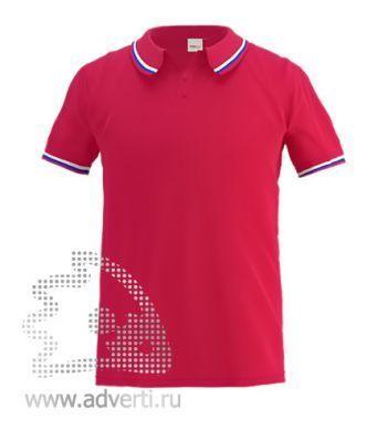 Рубашка поло «Stan Russian», мужская, красная