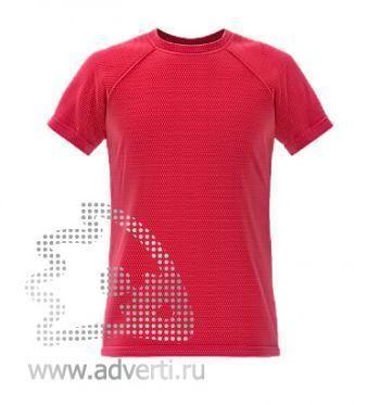 Футболка под сублимацию «Stan Print», мужская, красная