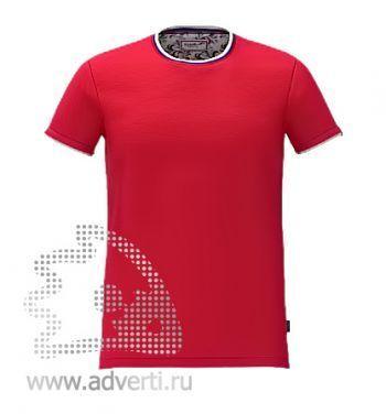 Футболка «Ekaterina City», мужская, красная