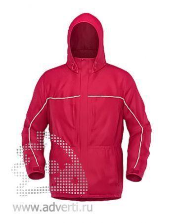 Куртка «Stan Nordic», унисекс, красная