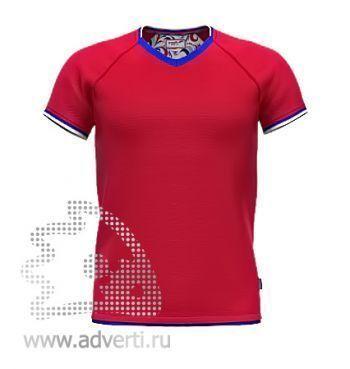 Футболка «Moscow Style», мужская, красная