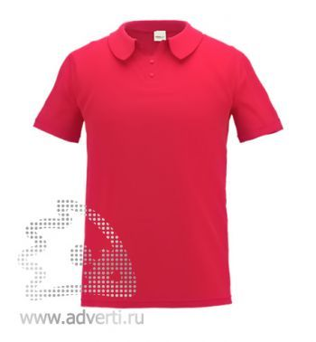 Рубашка поло «Stan Primier», мужская, красная
