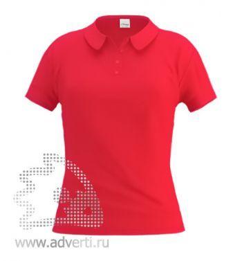 Рубашка поло «Stan Women», женская, красная