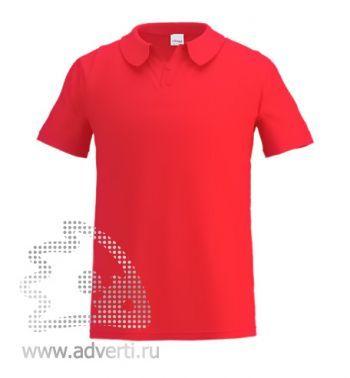 Рубашка поло под сублимацию «Stan Poly», мужская, красная