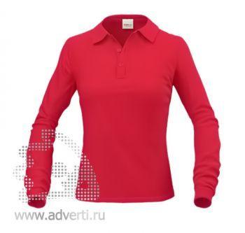 Рубашка поло «Stan Polo W», женская, красная