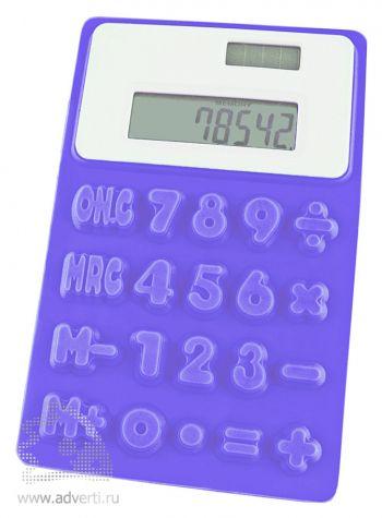 Калькулятор Elastic, синий