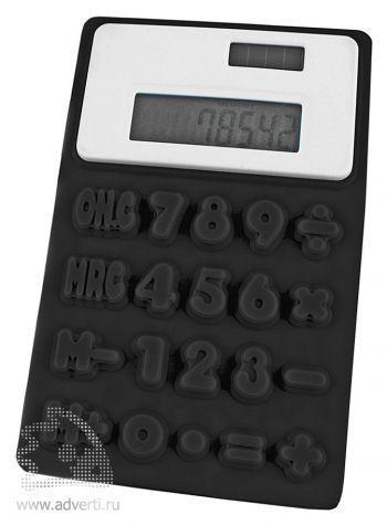 Калькулятор Elastic, черный