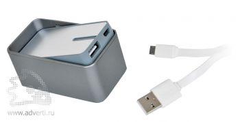 Универсальное зарядное устройство «SwitchOn» (4400мА), комплектация
