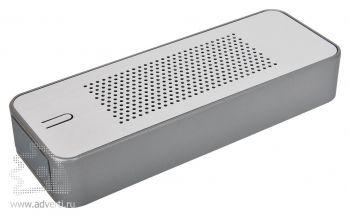 Универсальное зарядное устройство c bluetooth-стереосистемой «Music box» (4400мА), вид сверху