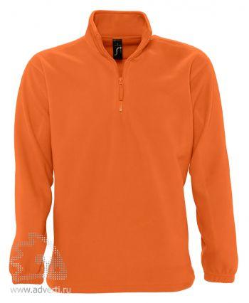 Толстовка «Ness 300», мужская, Sol's, Франция, оранжевая