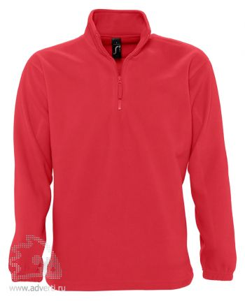 Толстовка «Ness 300», мужская, Sol's, Франция, красная