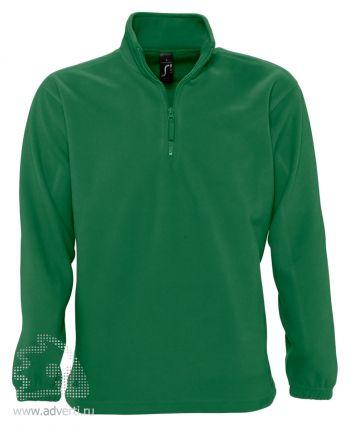 Толстовка «Ness 300», мужская, Sol's, Франция, зеленая