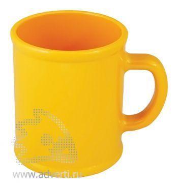 Кружка «Радуга», желтая