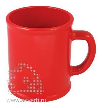 Кружка «Радуга», красная
