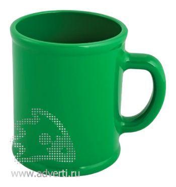 Кружка «Радуга», зеленая