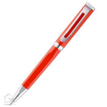 Шариковая ручка «Phase», красная, клип