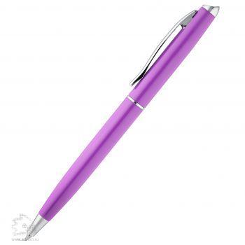Шариковая ручка «Phrase», фиолетовая, вид сбоку