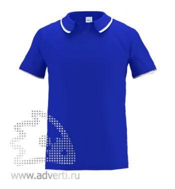 Рубашка поло «Stan Trophy», мужская, синяя