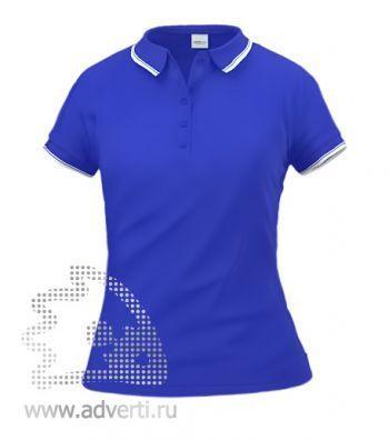 Рубашка поло «Stan Trophy W», женская, синяя